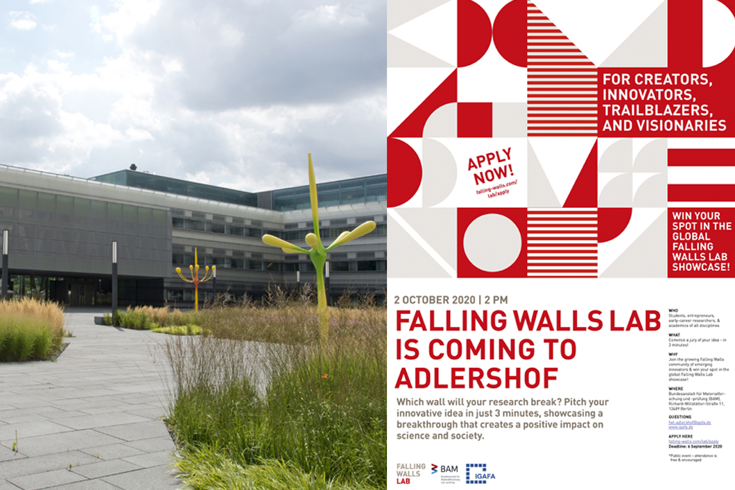 Falling Walls Lab an der BAM in Adlershof 2020