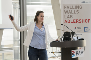 Falling Walls Lab an der BAM in Adlershof 2018