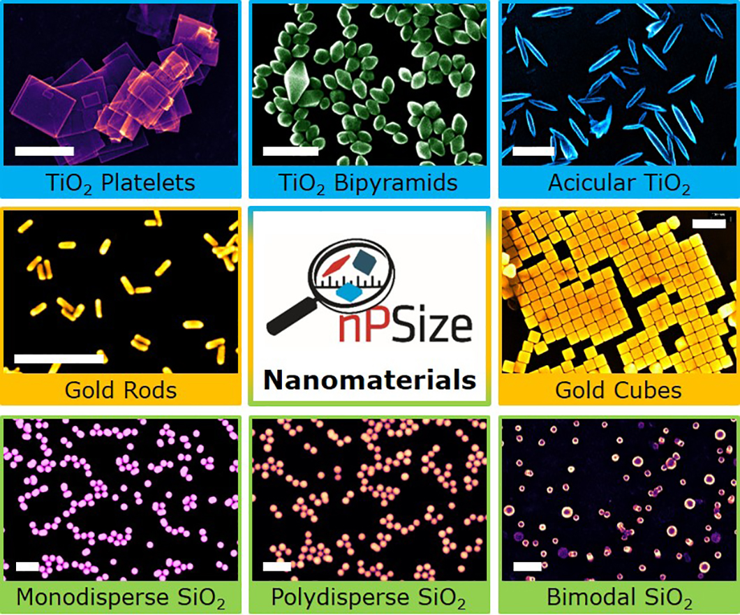 nPSize Nanopartikel Collage