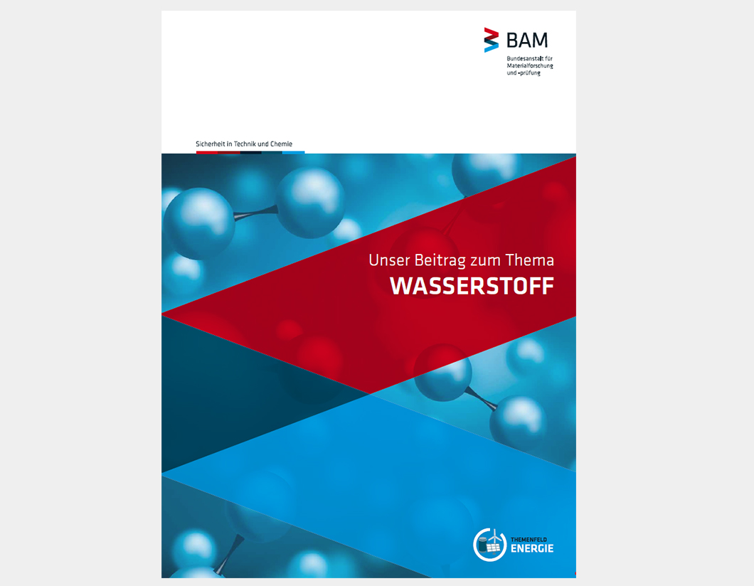Cover of the BAM hydrogen booklet
