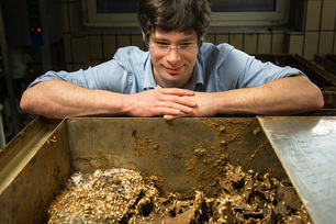 As an evolutionary biologist, Dino McMahon researches the immune systems of termites in order to find a non-toxic wood preservative