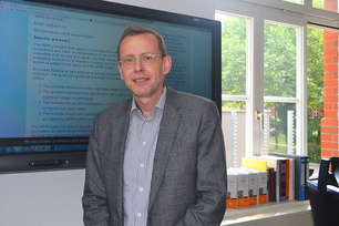 Dr. Thomas Goedecke in his office