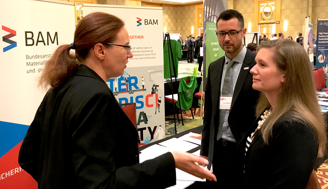 BAM information booth at the GAIN Annual Meeting Talent Fair 2016