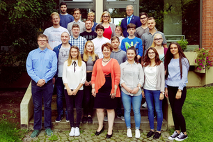 BAM welcomed 19 new apprentices on their first day of work on 1st September