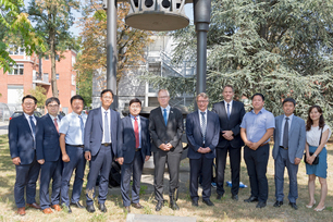 Korea Gas Safety Corporation visiting BAM