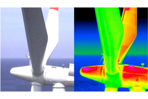 Too warm or too cold? Thermographic methods can provide an insight into contactless infrared technology, revealing quality defects in materials.