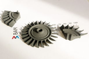 Silicon carbide turbine rotor produced by LSD-print Additive Manufacturing technology