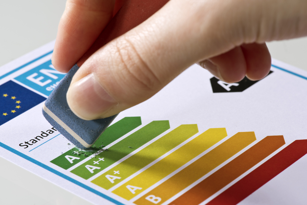 "When the new framework regulation on energy efficiency labelling enters into force in August 2017, the ""plus classes"" will no longer be used"