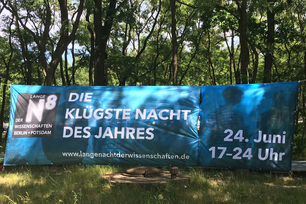 Picture of the Banner of the Long Night of the Sciences at BAM branch in Adlershof