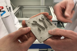 Small but special: the first wrenches produced in zero gravity using 3D printing