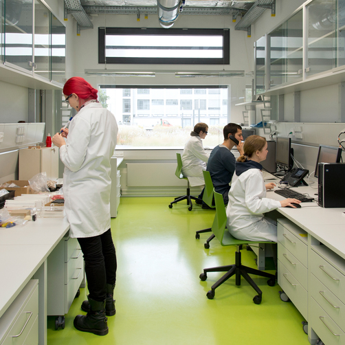 "Lab at BAM branch Adlershof, building 8.05 ""Technikum und Laborgebäude"""