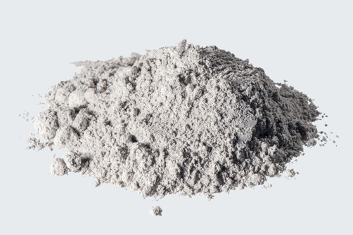 Paper ash as a binder for building materials