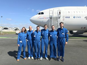 group photo of the zeroG team 2019