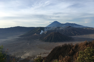 Mount Bromo at Indonesia